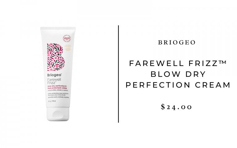 Briogeo farewell frizz blowdry cream