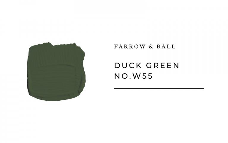 farrow and ball duck green