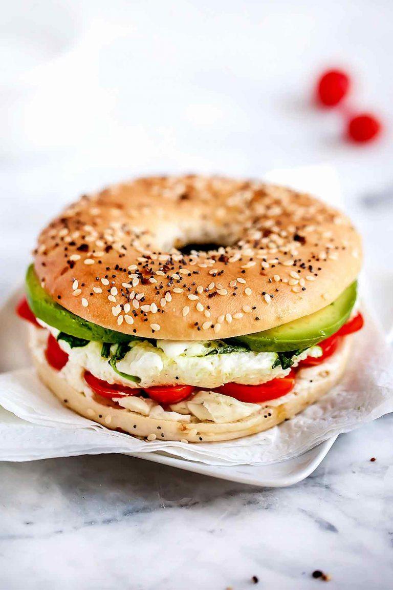 microwave egg breakfast sandwich