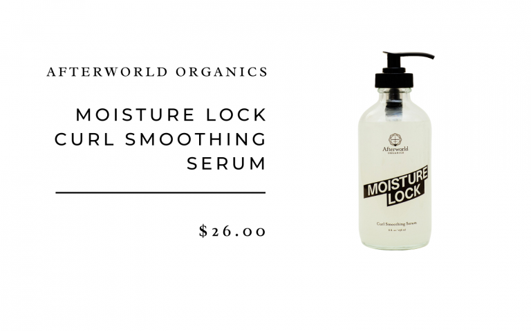 Afterworld Organics Moisture Lock Smoothing Serum