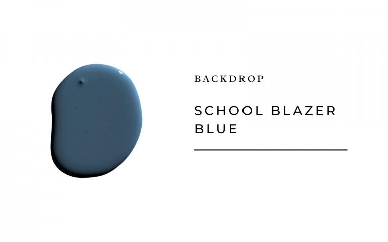 backdrop school blazer blue
