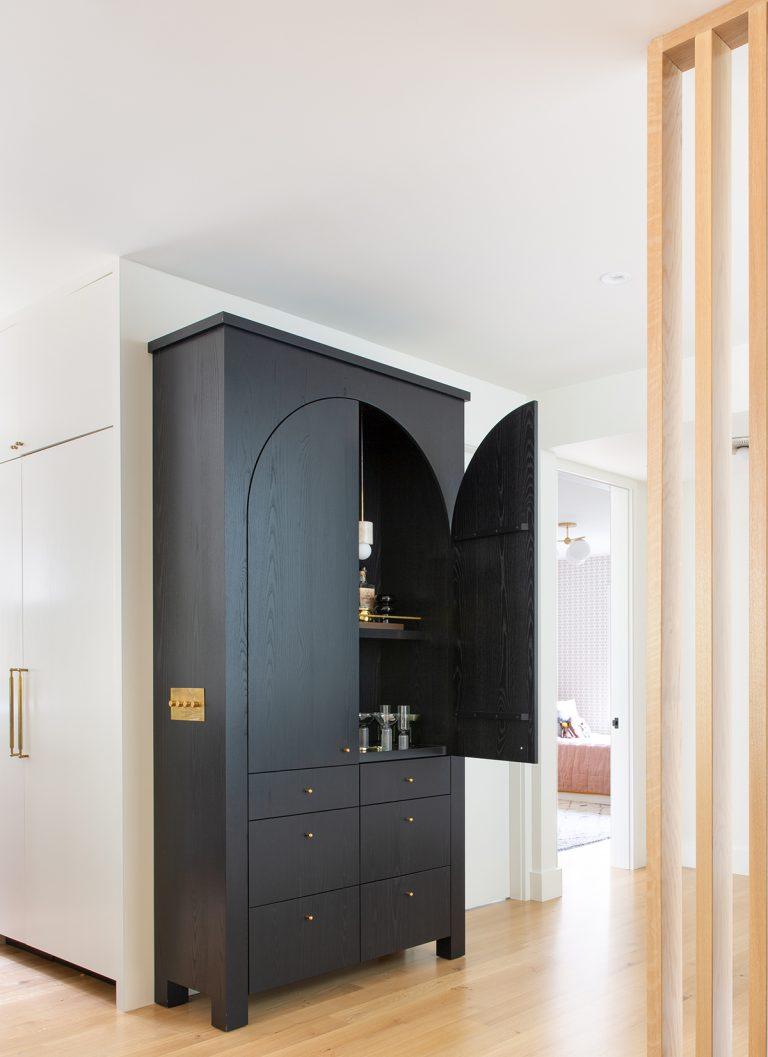 Modern bar closet