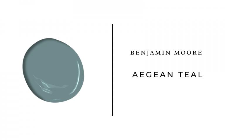 Benjamin Moore Agean Teal