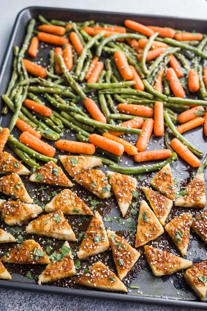 tofu and veggies from food with feeling