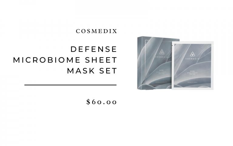 Cosmedix Micro Defense Microbiome Sheet Mask Set (5 masks)