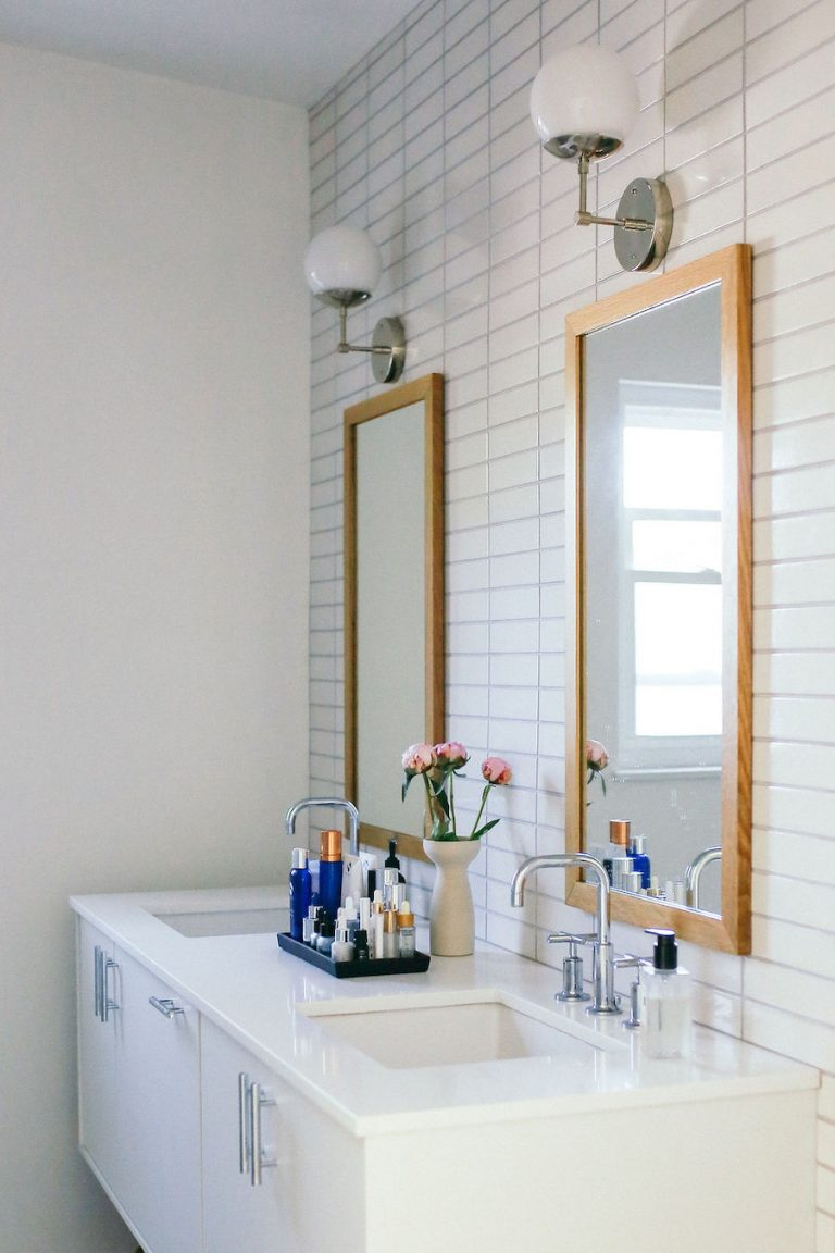 samantha wennerstrom, could i have that, bathroom, vanity, skincare