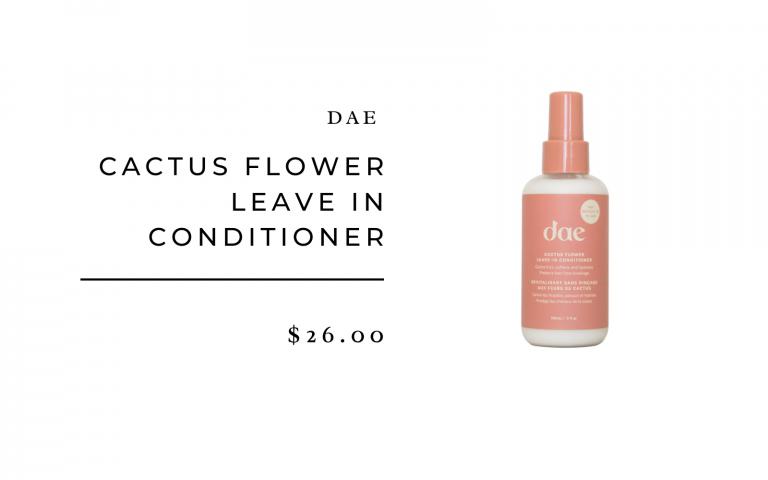 Dae cactus flower leave in conditioner