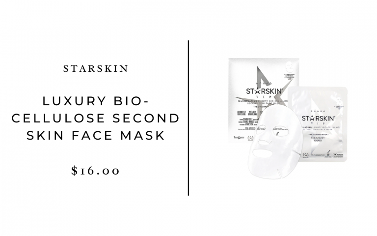 Starskin VIP The Diamond Mask Illuminating Luxury Bio-Cellulose Second Skin Face Mask