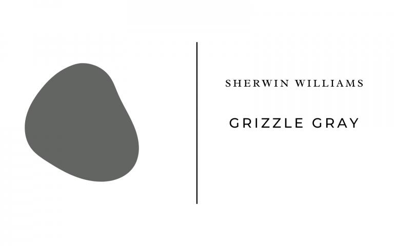 sherwin williams grizzle gray