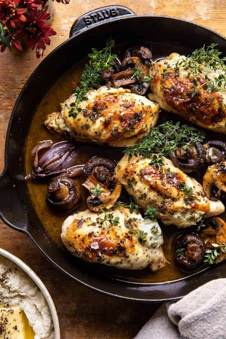 herbed ricotta stuffed chicken