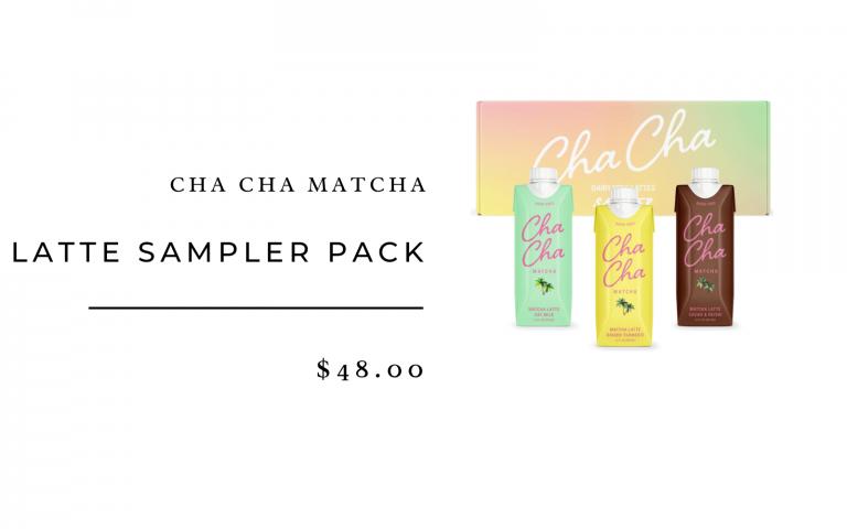 cha cha matcha sampler pack