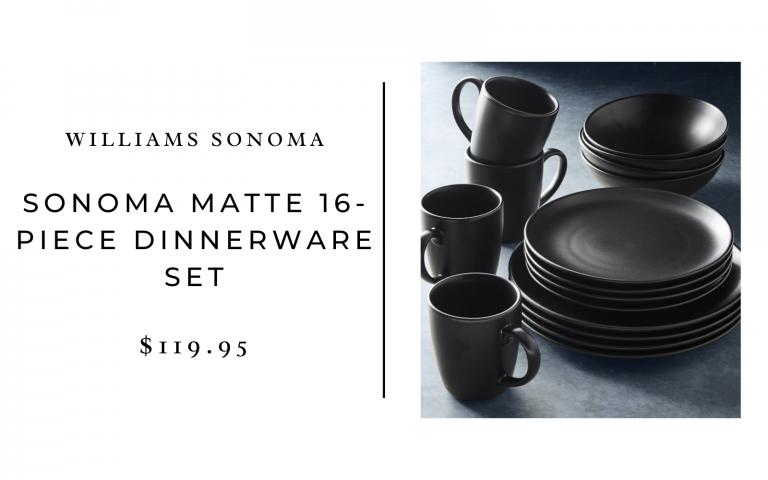 williams sonoma dinnerware set