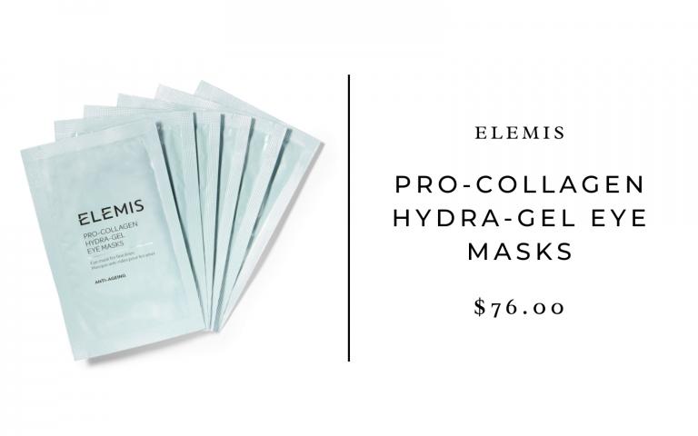 elemis pro-collagen hydra gel masks