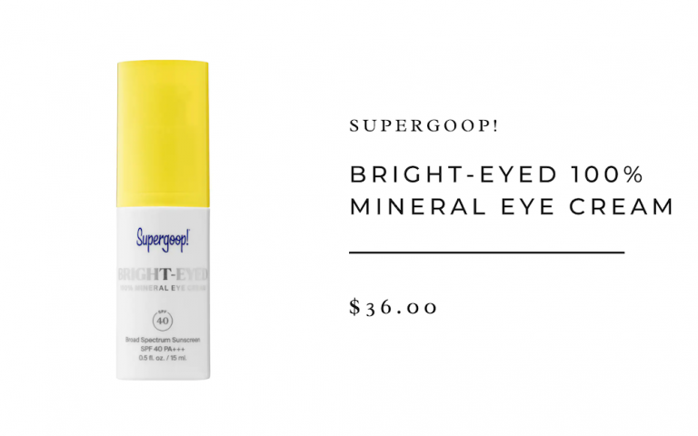Supergoop! Bright-Eyed Mineral Eye Cream