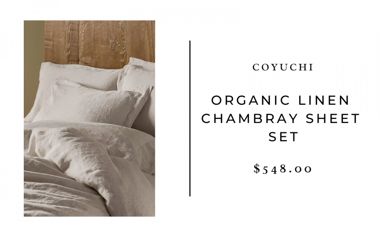 coyuchi bed linen sheets