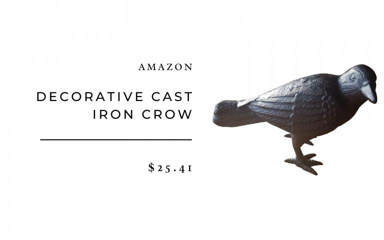 cast iron crow