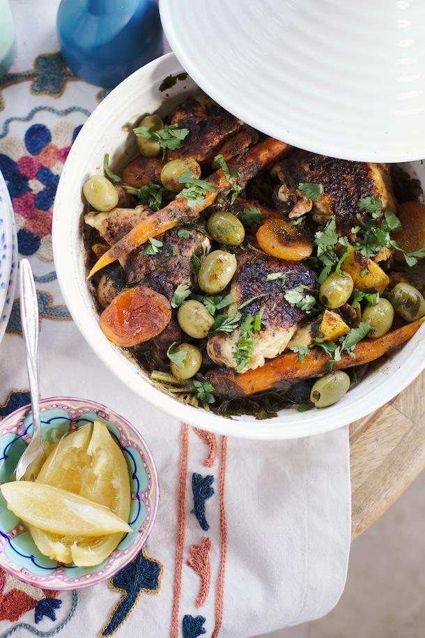 تگین مرغ مراکشی