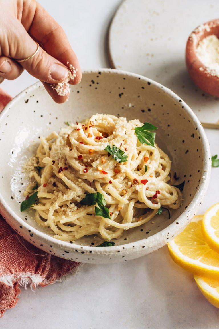 vegan pasta al limone minimalist baker