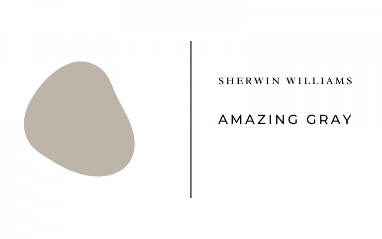 sherwin williams amazing gray