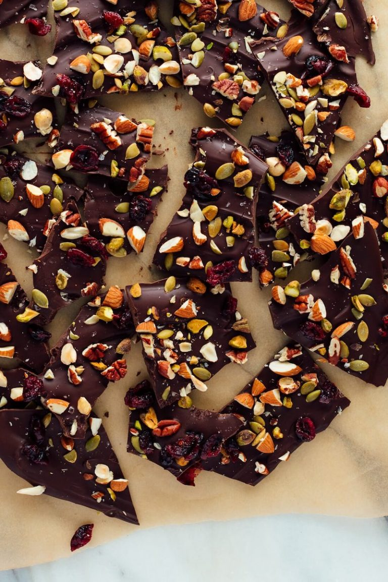 Easy Chocolate Bark by Cookie + Kate