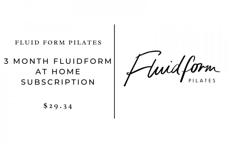 Fluid Form Pilates At-Home Subscription