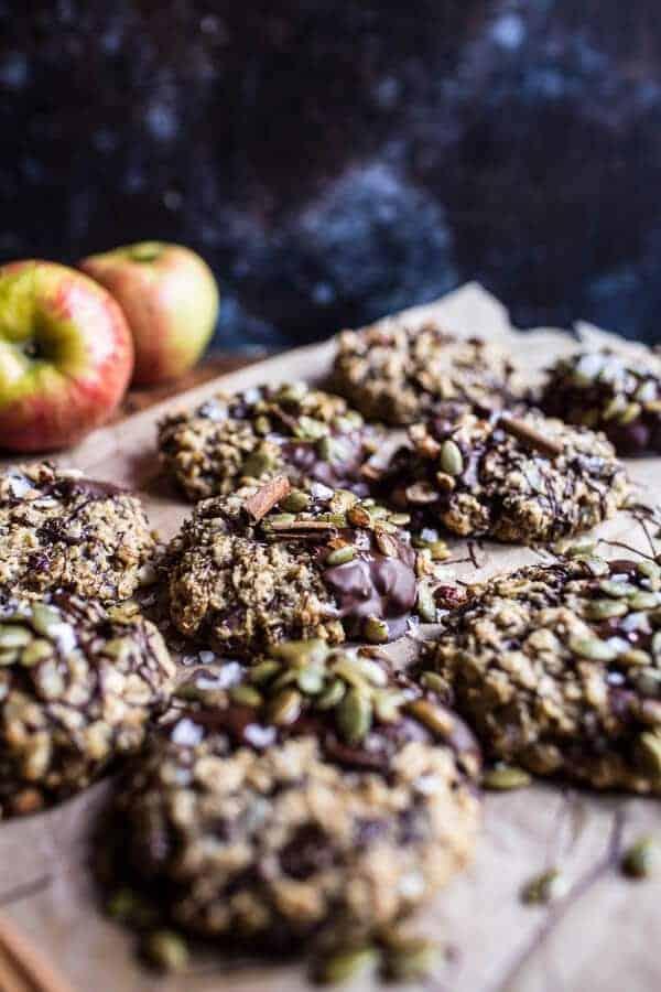 harvest oatmeal chocolate chunk cookies