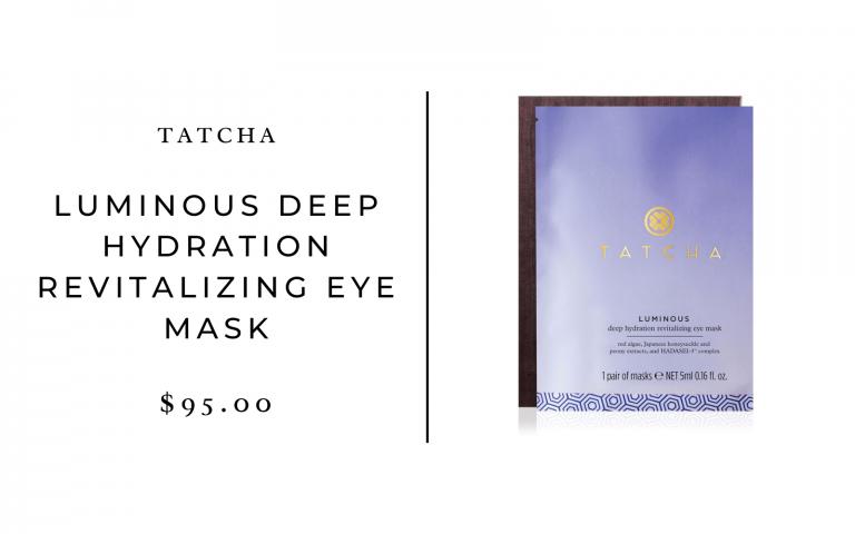 tatcha luminous deep hydration eye mask