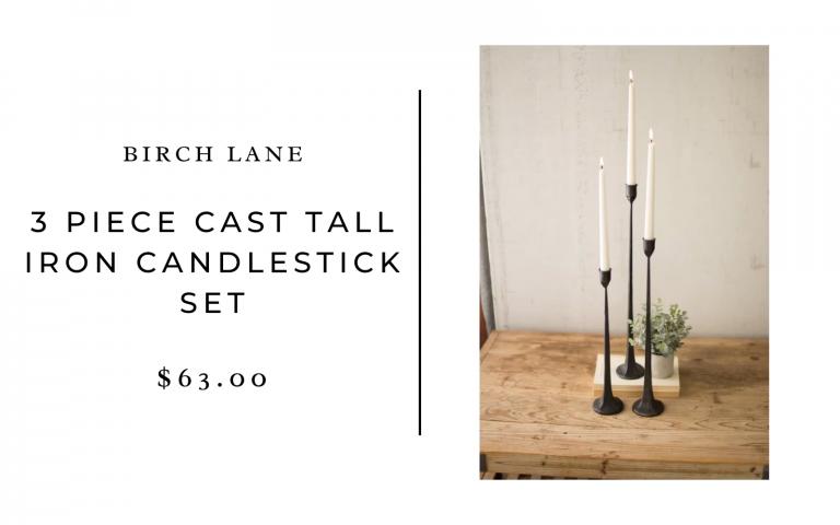 birch lane candlestick set