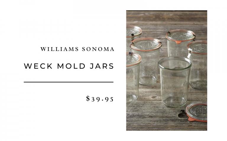 williams sonoma weck glass jars