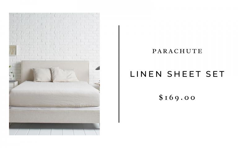 Parachute Linen Sheet Set