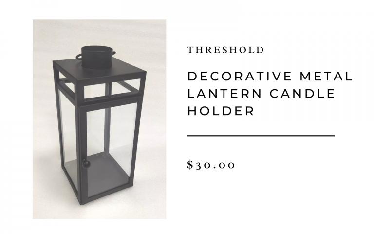 target decorative lantern candle holder
