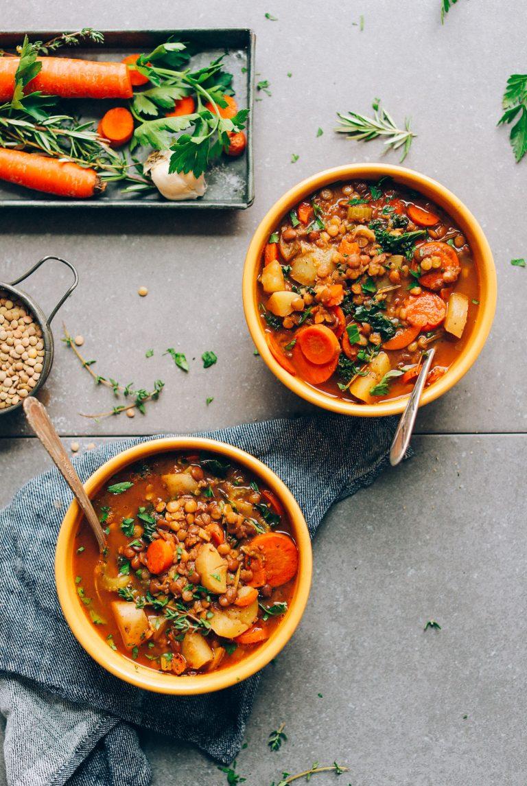 سوپ عدس روزانه