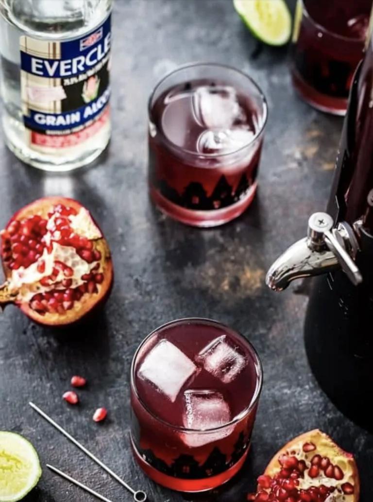 pomegranate ginger punch