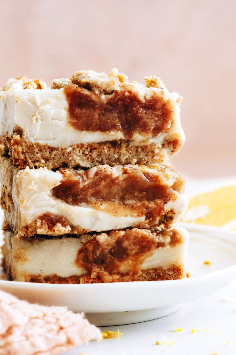 apple butter cheesecake bars