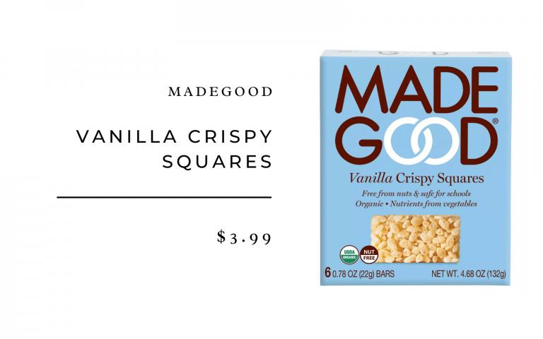 madegood vanilla krispy squares