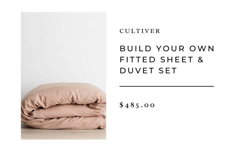 Cultiver Build Your Own Fitted Sheet & Duvet Set