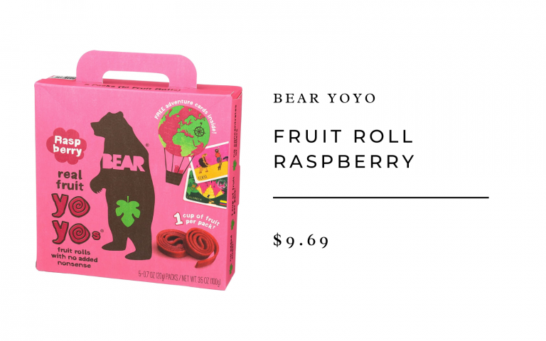 bear yoyo fruit rolls
