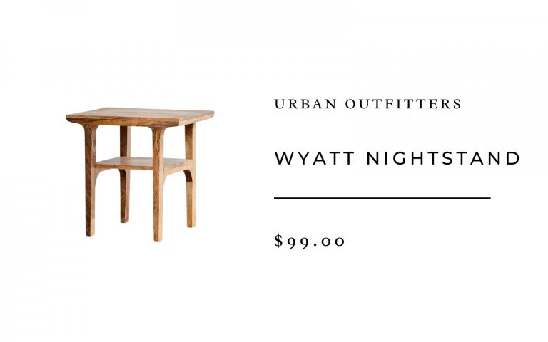 pourvoiries urbaines table de chevet wyatt
