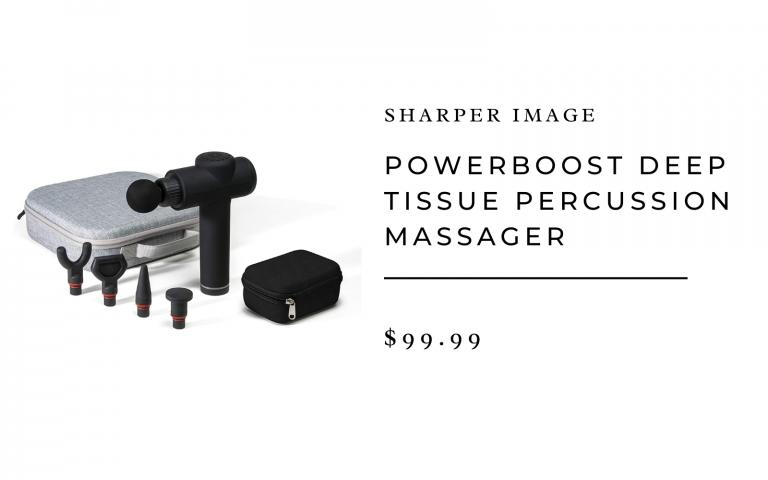 Sharper Image massage gun