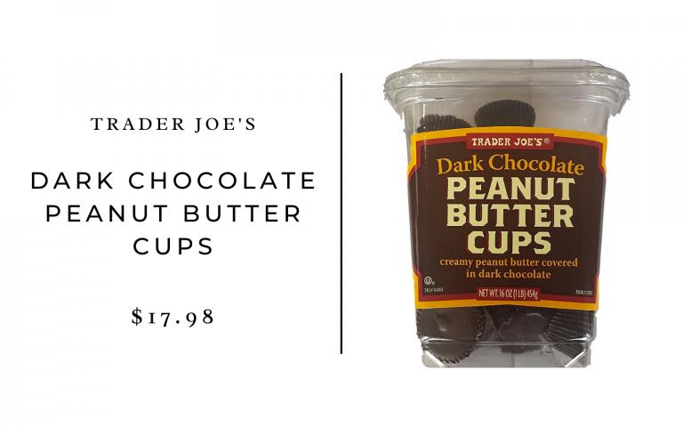 trader joes dark chocolate peanut butter cups