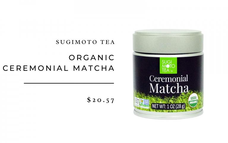 sujimoto tea matcha