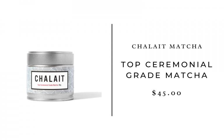 chalait ceremonial grade matcha