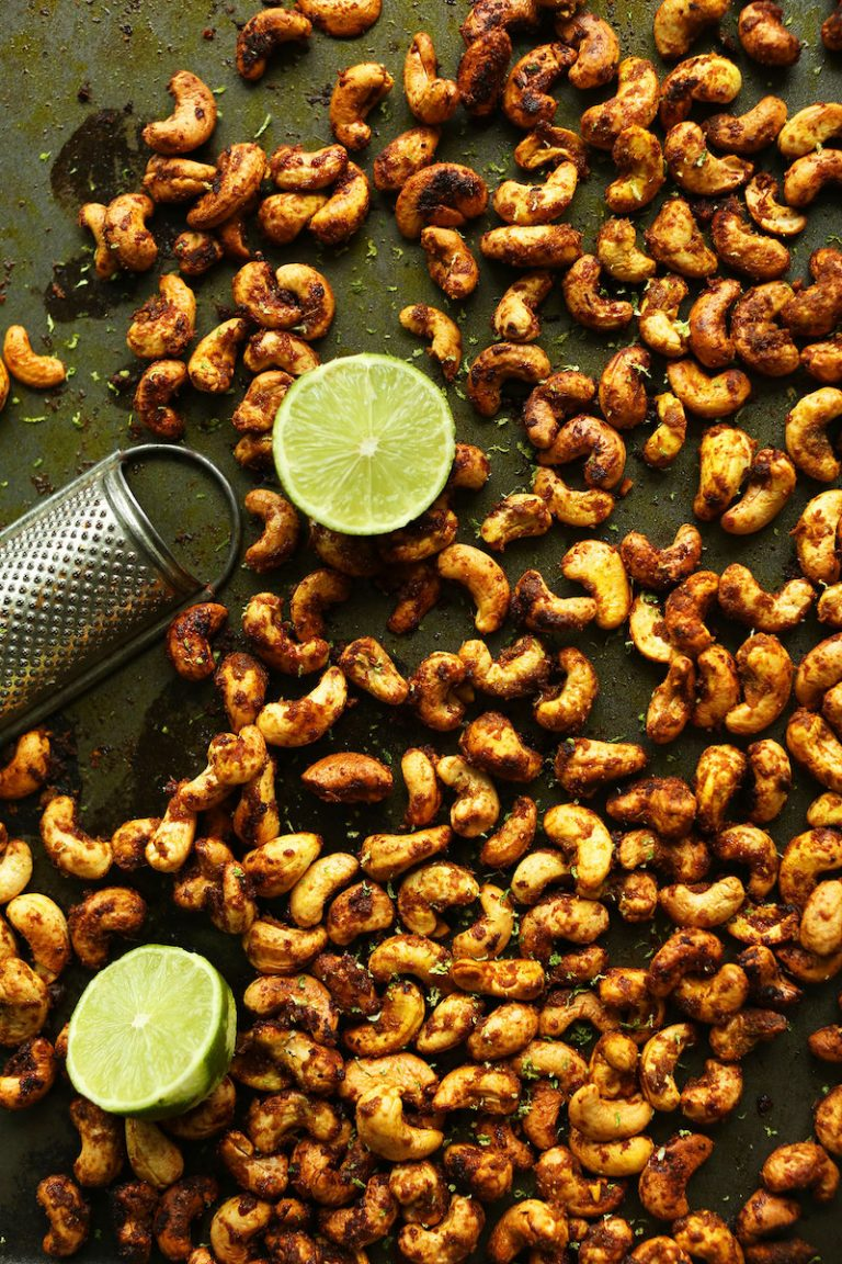 Curry-Spiced Cashews by Minimalist Baker