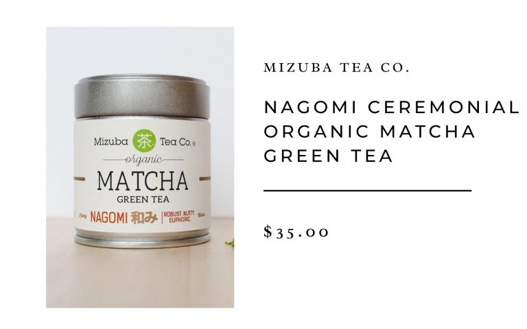 mizuba nagomi matcha green tea