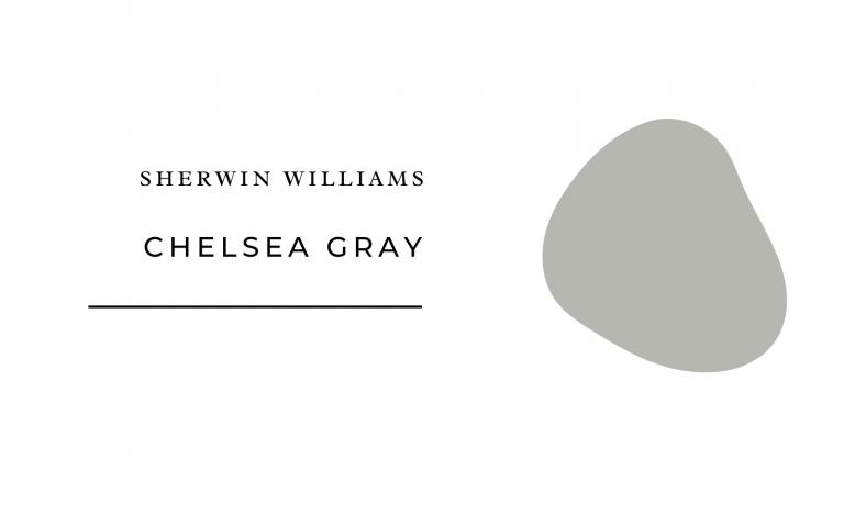 sherwin williams chelsea gray