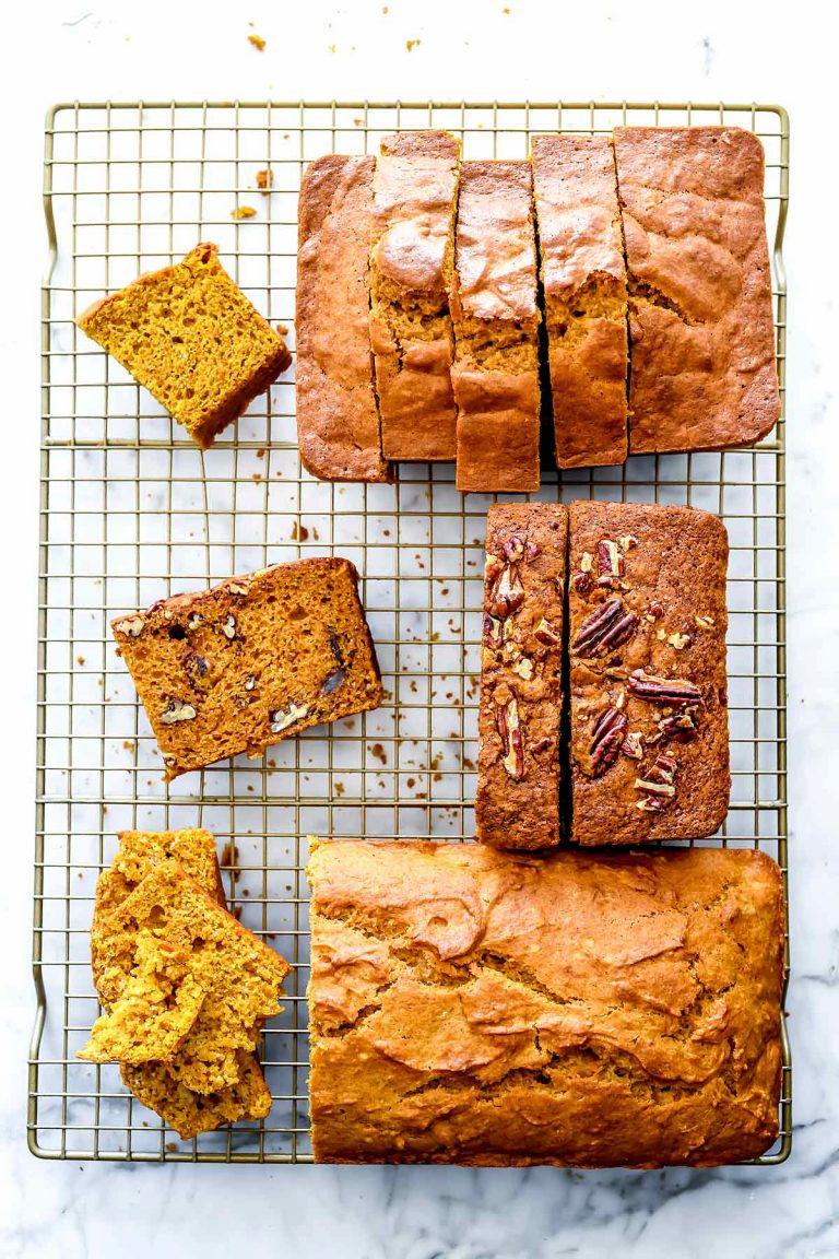 pumpkin bread from foodie crush