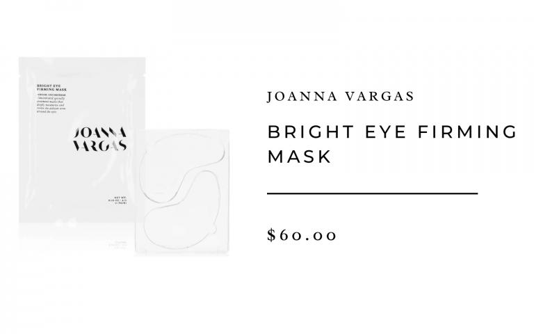 joanna vargas bright eye mask