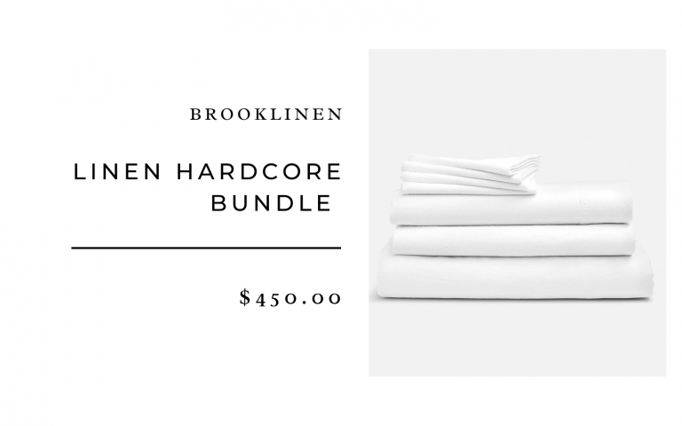 Brooklinen Washed Linen Sheets