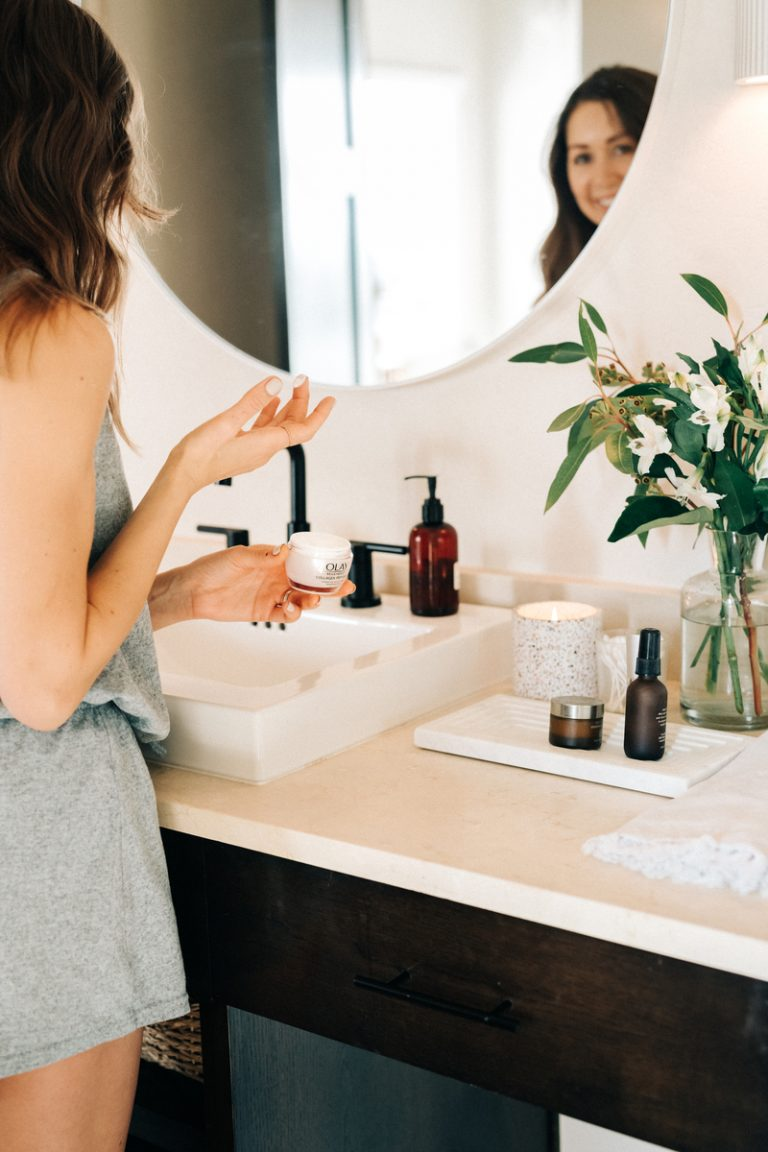 skincare essentials moisturizer olay, how to reset your skin