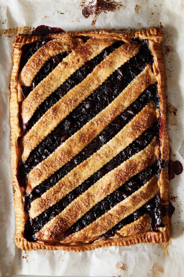 concord grape galette from food 52